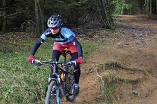 Auf den Spuren von Mountainbike-Olympiasiegerin Sabine Spitz durch den Hotzenwald