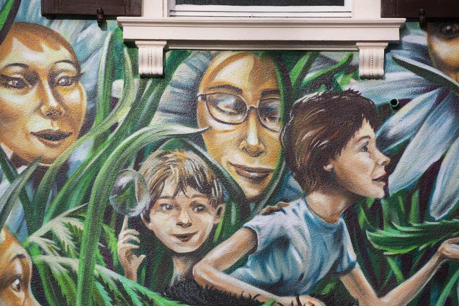 Graffiti-Haus Wiehre - Freiburg