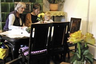 Café-Stüble der Hausbäckerei Kotz