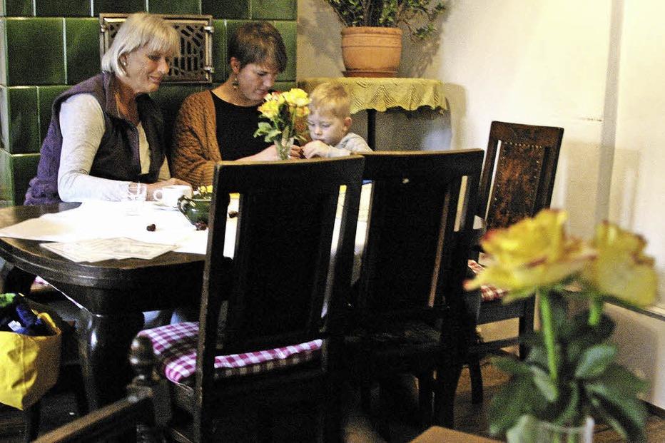 Café-Stüble der Hausbäckerei Kotz - Müllheim