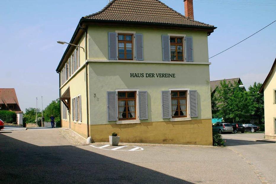 Haus der Vereine - Ballrechten-Dottingen