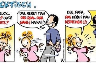 Lucy Backfisch: Das nennt man Köpfchen!!!
