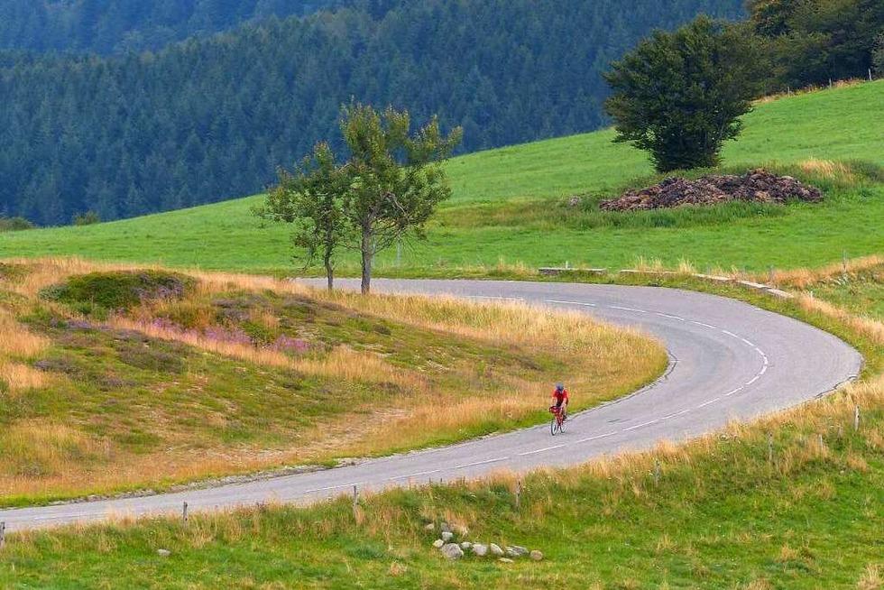 Tour-de-France-Flair: Auf den Grand Ballon von Badenweiler - Badische Zeitung TICKET