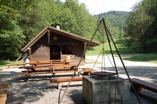 Grillhütte im Scherlenzendobel (Eschbach)