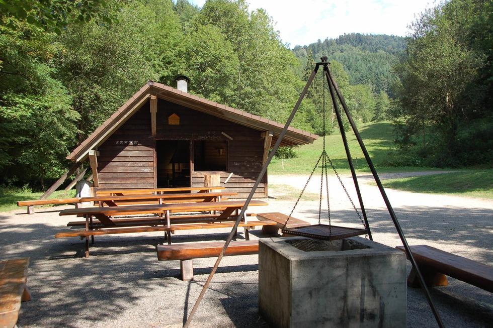 Grillhütte im Scherlenzendobel (Eschbach) - Stegen