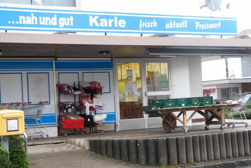 Lebensmittelmarkt Karle (geschlossen) - Schwörstadt