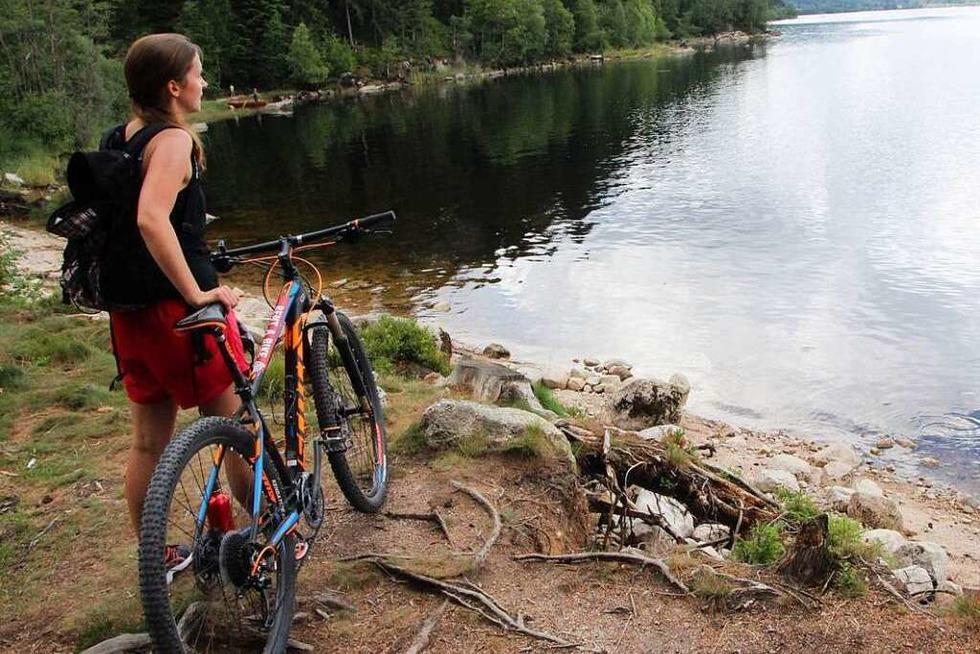 Schweißtreibend, aber der Mühe wert: Seenradweg im Hochschwarzwald - Badische Zeitung TICKET