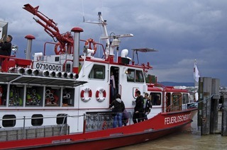 Schweizer Birsfelden feiert 75-jähriges Jubiläum seines Hafens