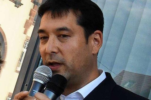 Markus Hollemann bleibt Bürgermeister von Denzlingen