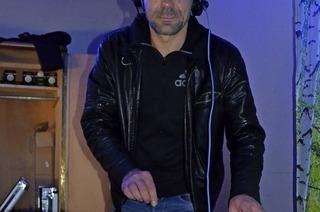 DJ Sascha Kleiser in Friedenweiler