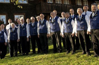 Maihock des Männergesangvereins in Breitnau