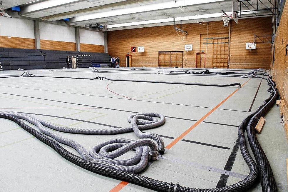Sporthalle Staudinger Schule - Freiburg