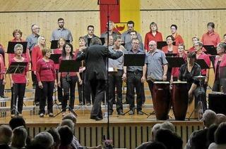 Chorvereinigung im Sängerheim in Mußbach