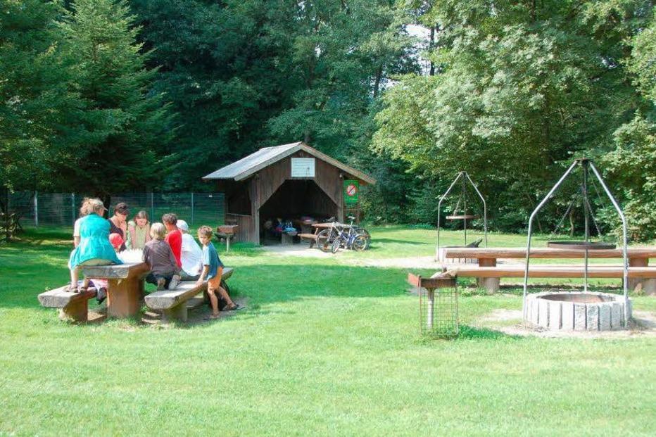 Grillplatz am Engenwald - Kirchzarten