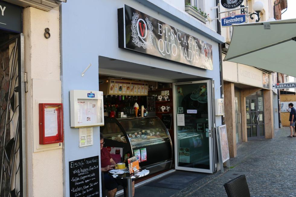 Eiscafe Quo Vadis Gold - Freiburg