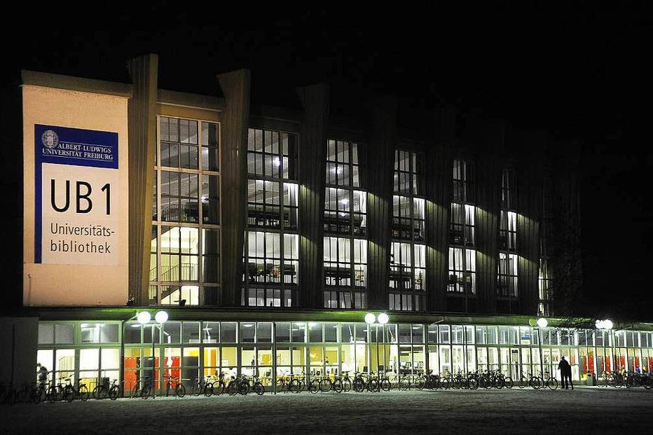 Frühere Universitätsbibliothek (Alter Messplatz) - Freiburg