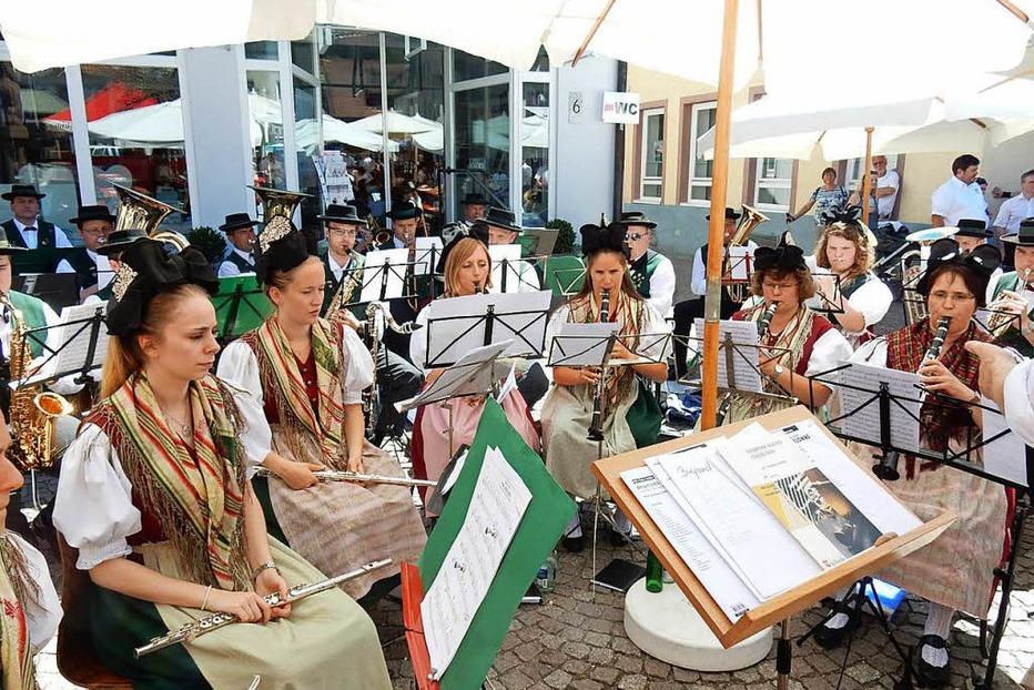 Fotos: 125 Jahre Oberbadischer Blasmusikverband in Elzach