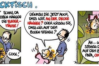 Lucy Backfisch: An der Decke hängen?