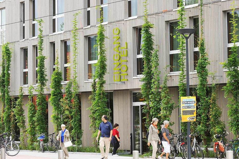 Green City Hotel Vauban - Freiburg