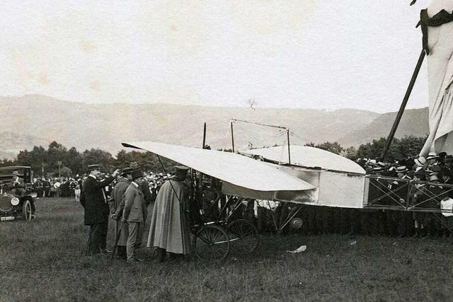 Die Geschichte der Fliegerei in Freiburg reicht 110 Jahre zurück