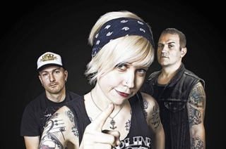 Vintage Punk-Rock Band The Silver Shine (Ungarn)in Auggen