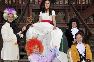 Musikerkrimi Amadeus, aufgeführt von der Burgbühne Oberkirch
