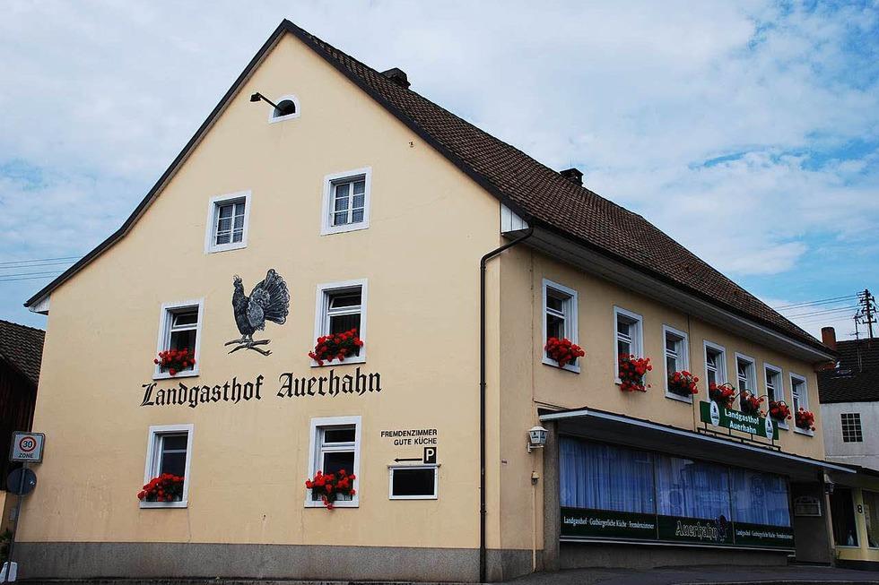 Landgasthaus Auerhahn - Grenzach-Wyhlen