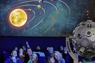 """Im Planetarium startet die neue Show """"Schwarze Löcher - die Schwerkraftmonster des Alls"""""""