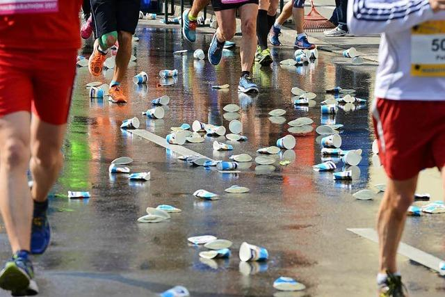 Beim Freiburg-Marathon müssen alle zurück auf Los