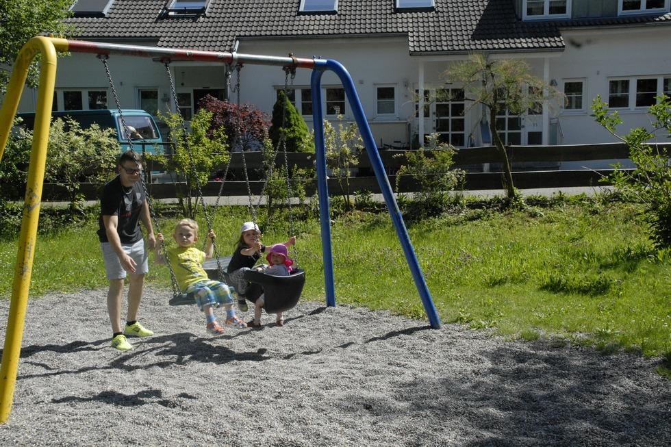 Spielplatz Nettenbergstraße Degerfelden - Rheinfelden
