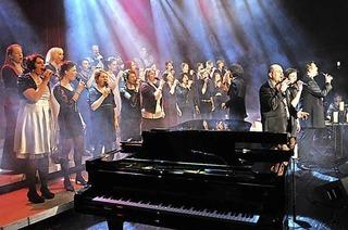 """Gospelchor """"Golden Harps"""" in Britzingen"""