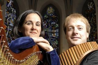 Konzert mit Panflöte und Hafre in der Wallfahrtskirche Todtmoos