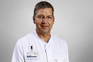 Dr. Ingo Engel referiert über Krankheiten des Verdauungstraktes im Kreiskrankenhaus Lörrach