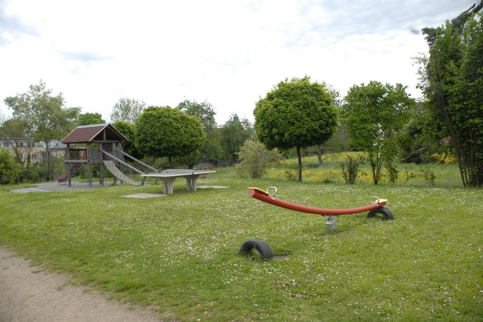 Spielplatz Akazienstraße (Warmbach) - Rheinfelden