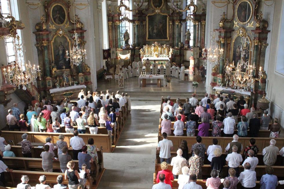 Kirche St. Johannes Baptist - Ringsheim