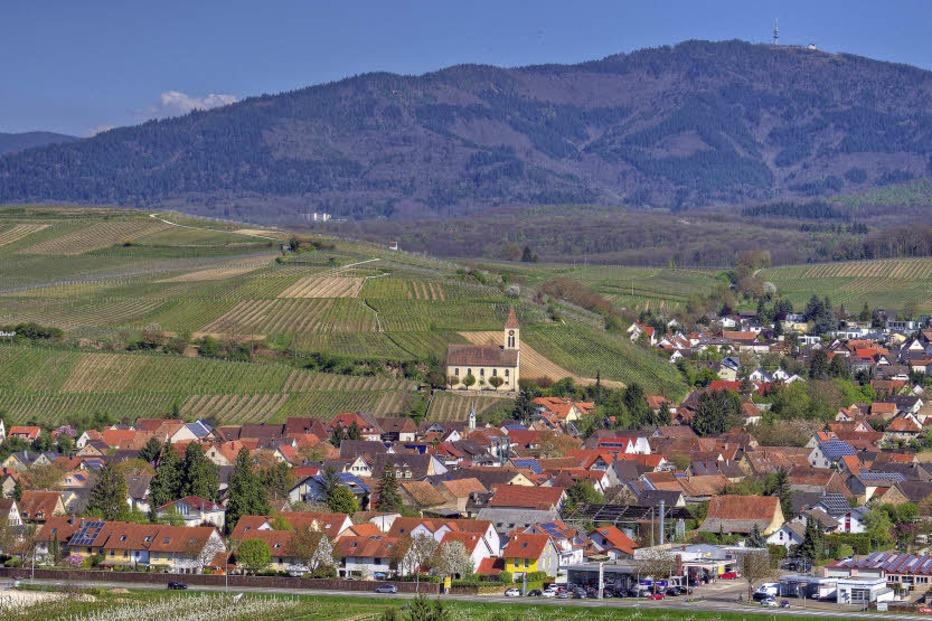 Ortsgebiet Auggen - Auggen