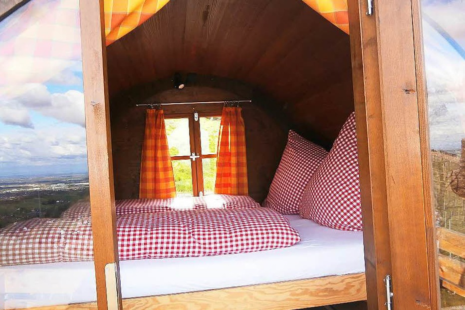 Schlafen im Weinfass - Sasbachwalden - Badische Zeitung TICKET