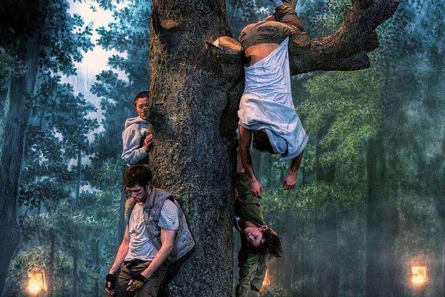 Mann singt in Höllstein Bäume an – Polizei alarmiert
