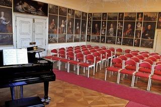 Wolfram Hartig auf Schloss Bürgeln