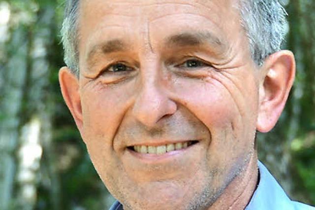 Walter Kemkes, Geschäftsführer des Biosphärengebiets Schwarzwald, im Gespräch