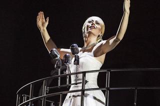 "Offizielle Produktion des Musicals ""Evita"" gastiert im Musical-Theater Basel"