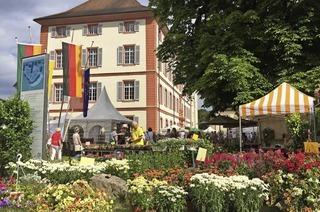 Diga-Gartenmesse rund ums Schloss Beuggen bei Rheinfelden