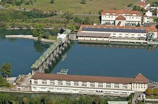Rundgang durchs Laufwasserkraftwerk Wyhlen