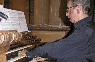 Mit Domorganist Mario Duella in St. Blasien