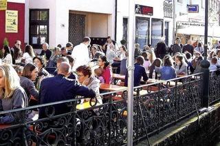 Am Herdermer Kirchplatz wird ab Freitag vier Tage kräftig gefeiert