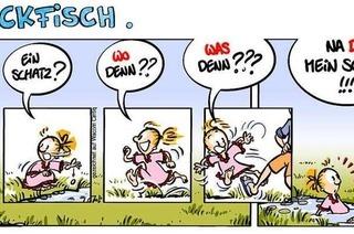 Lucy Backfisch: Ein Schatz?