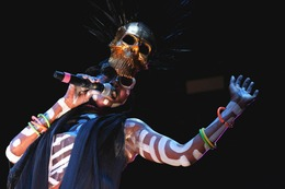 Fotos: Grace Jones bei Stimmen 2017 in Lörrach
