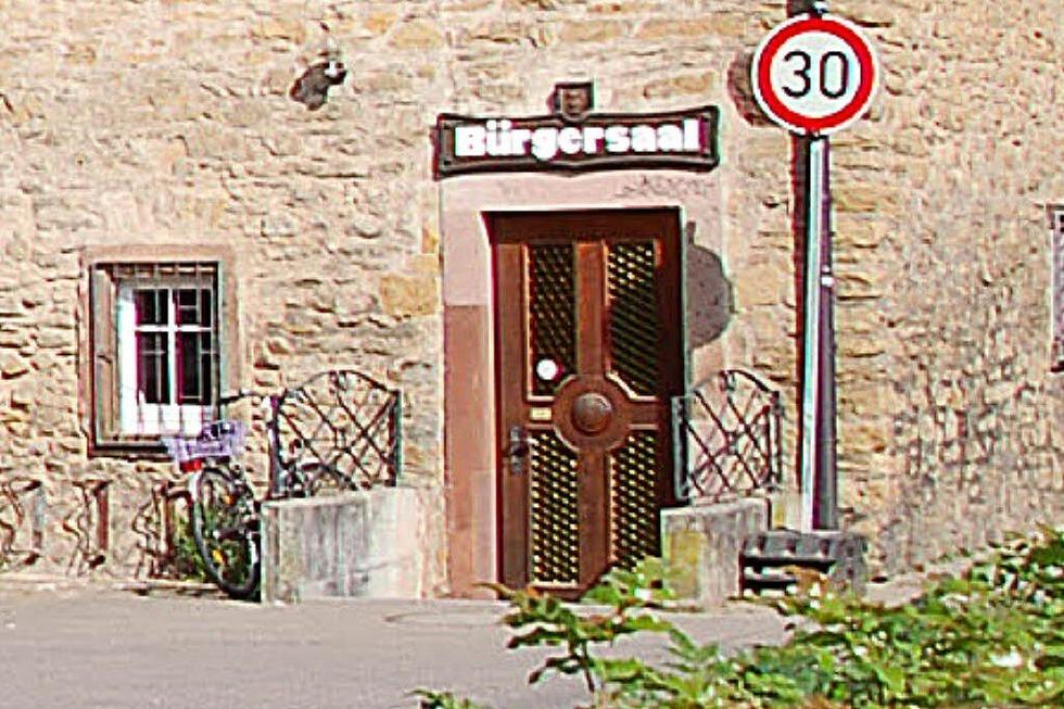 Bürgersaal - Kandern