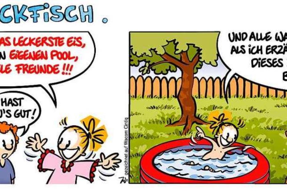 Comic Lucy Backfisch Urlaub Mal Anders Badische Zeitung Ticket