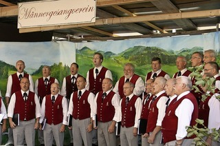 Gesangsverein St. Peter lädt ein